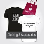Clothing and Accessories.