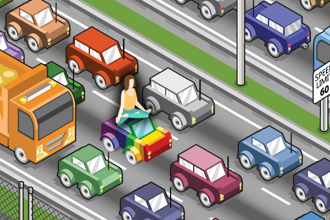 How to Meditate in a Traffic Jam