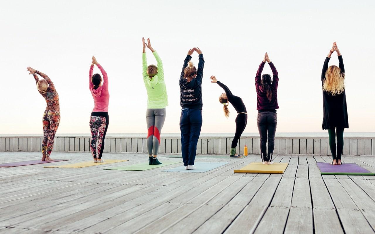 First Yoga Retreat