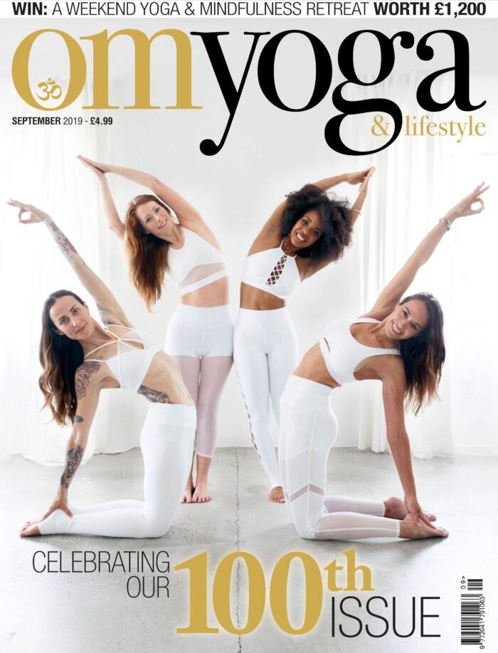 Om Yoga Cover September 2019