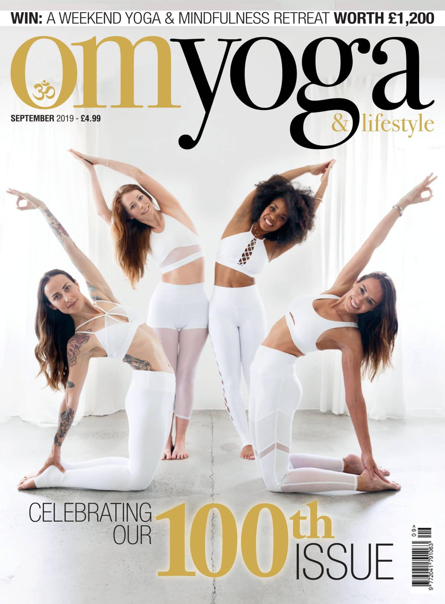 Om Yoga Cover September 2019