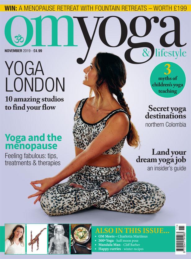 OM Yoga Magazine November 2019
