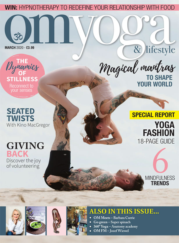 OM Yoga Magazine March 2020
