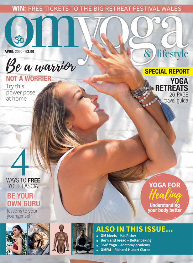 OM Yoga Magazine April 2020 Cover