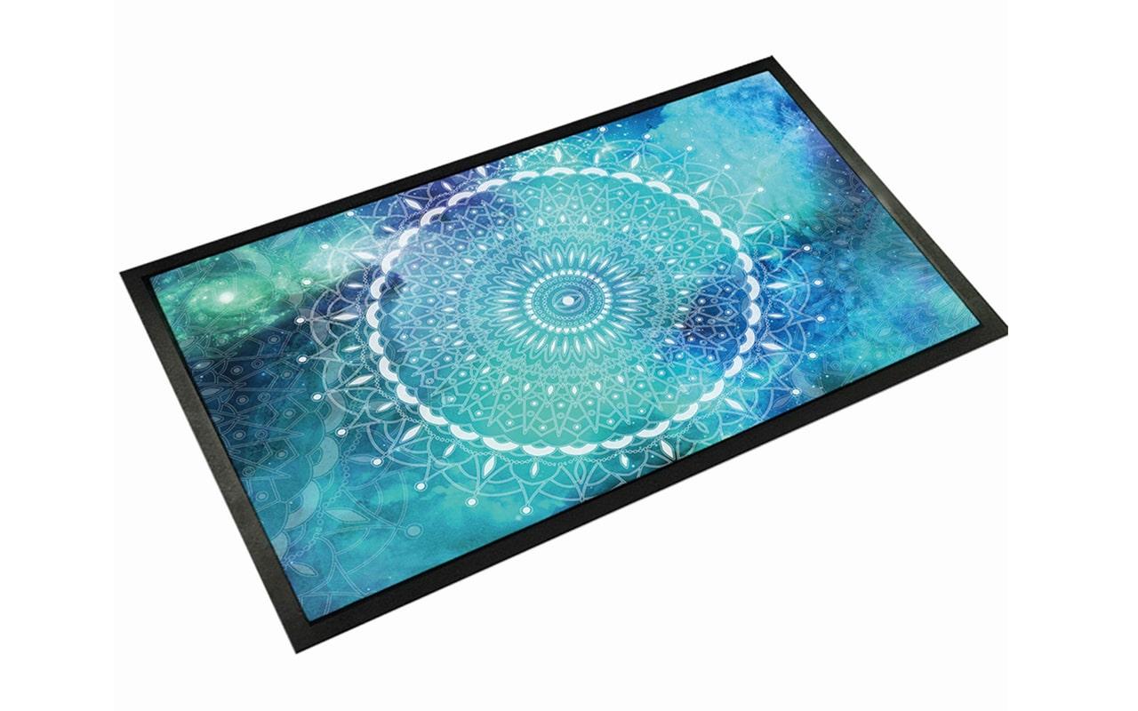 Mandala-Blue-Door-Mat