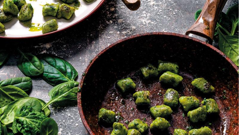 Spinach and Potato Gnocchi