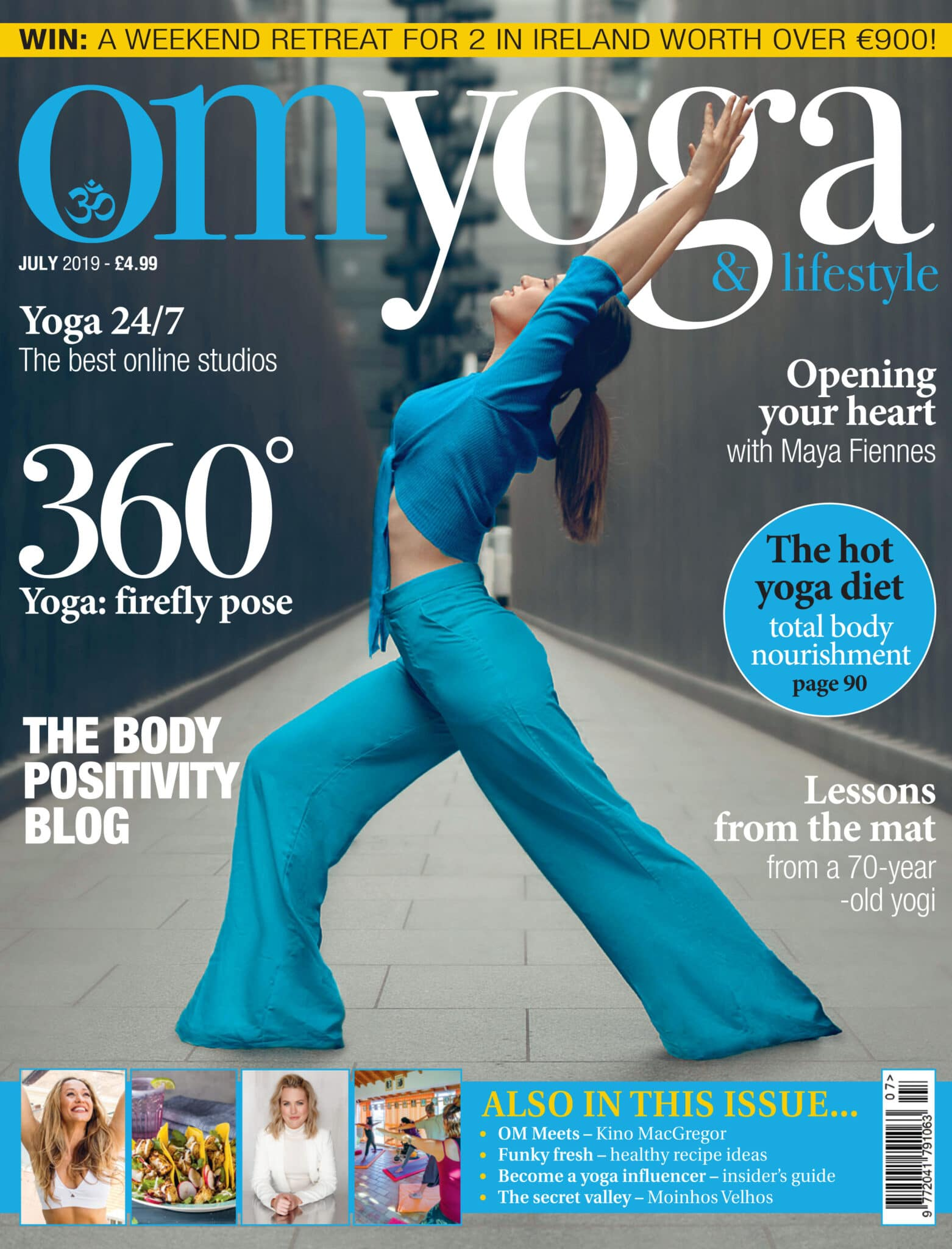 Om Yoga Cover July 2019