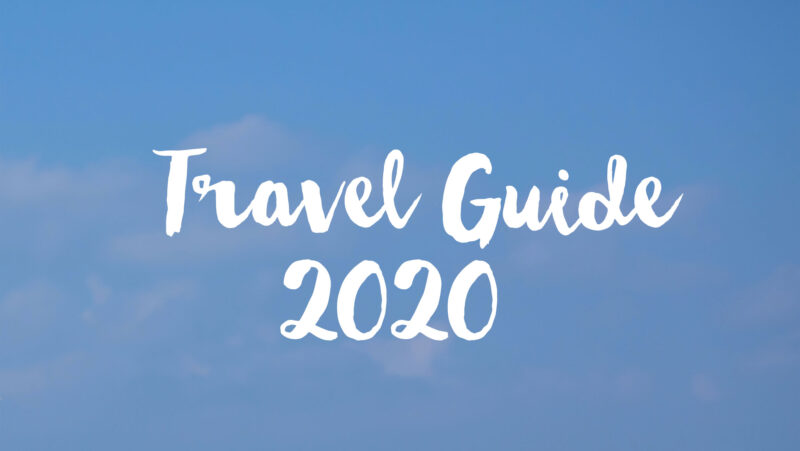 Travel Guide 2020 - Special report