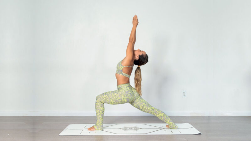 Warrior 1 Yoga Anatomy