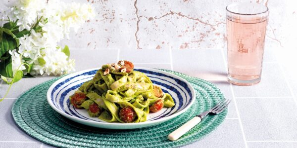 Watercress and Pea Pasta
