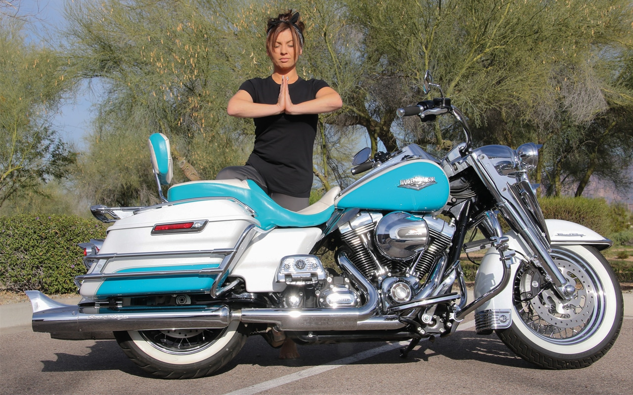 Yoga for bikers