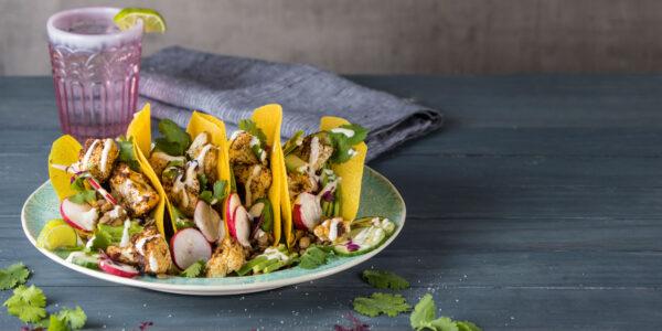 Roasted Cauliflower & Lentil Tacos