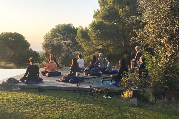 Yoga Magic on the Costa Brava
