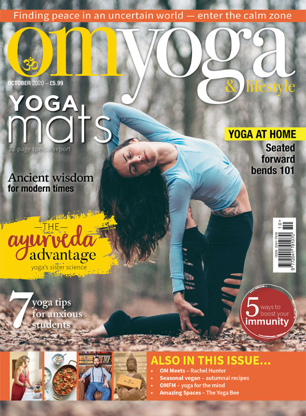 OM Yoga Magazine October 2020 Cover
