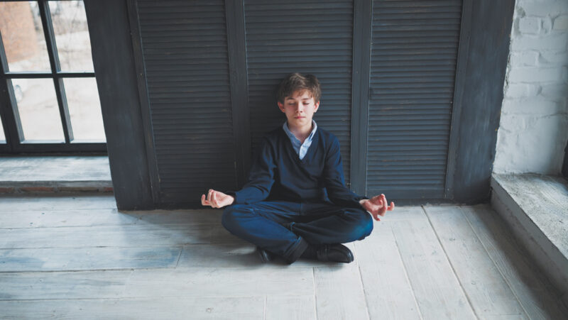 Yoga therapy for children