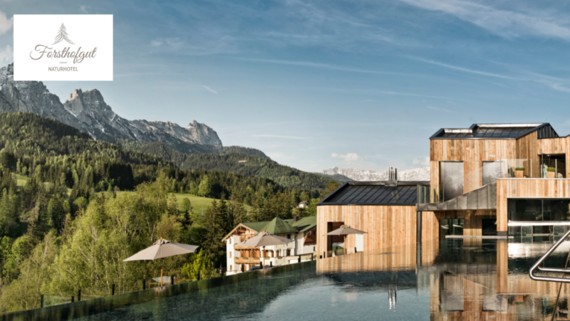 WIN – A Luxury Wellness Retreat at Austria's stunning Naturhotel Forsthofgut nature hotel – Worth £1,540*