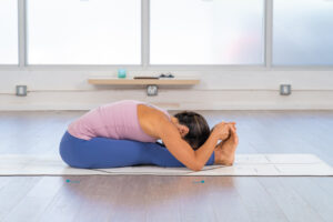 Seated forward bends