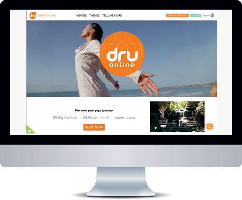 Best online yoga - Dru Yoga