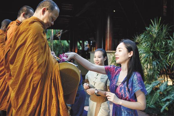 OM Travel monks