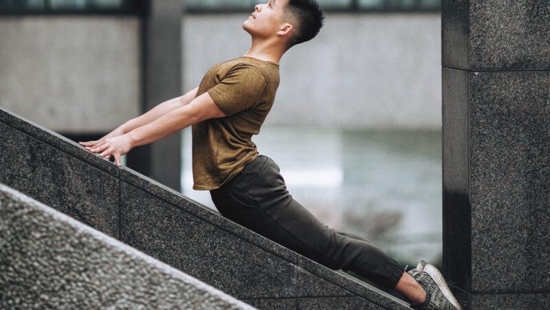 Upward-Facing Dog David Kam