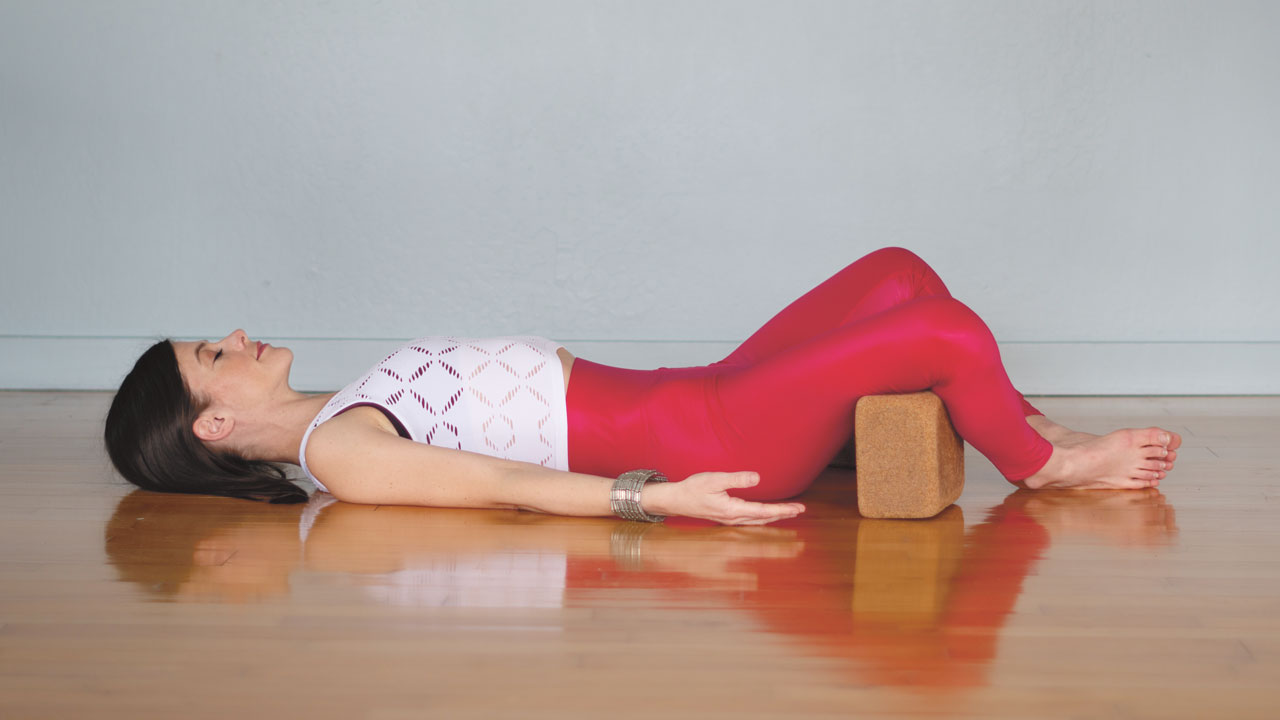 Yoga At Home - reclined bound angle