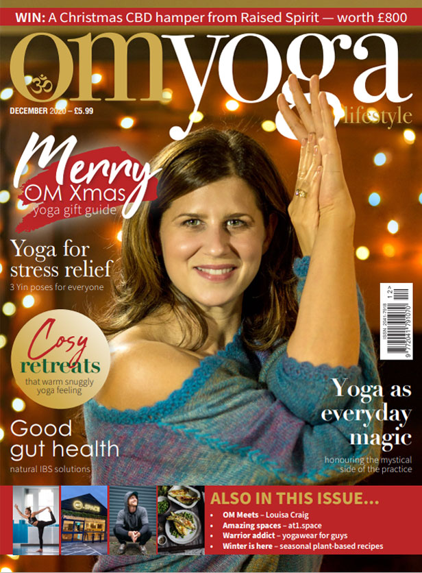 OM Yoga Magazine December 2020 Cover