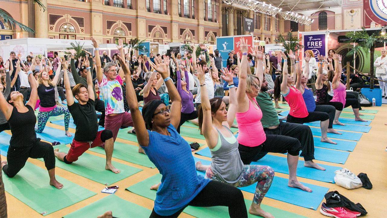 Yoga Festivals - OM YOGA SHOW LONDON