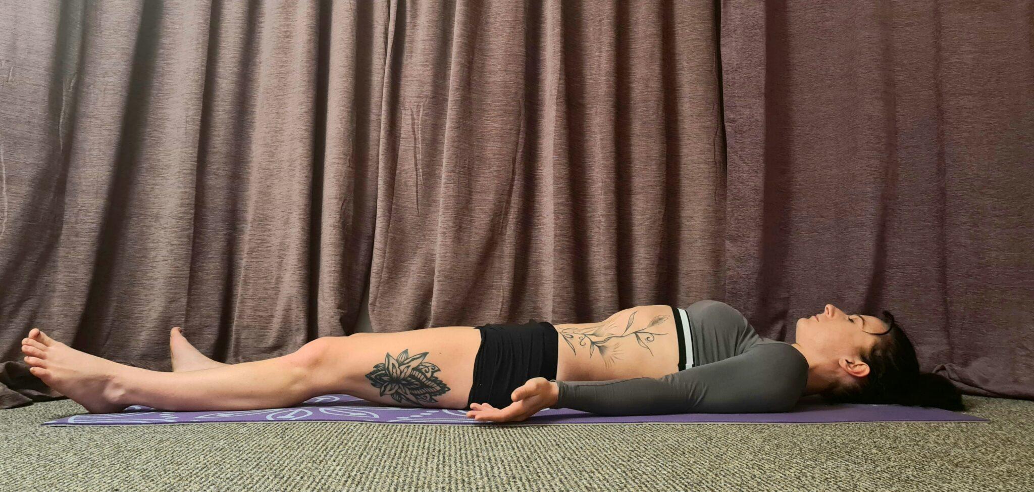 Restorative Yoga sequence - Savasana: Corpse Pose