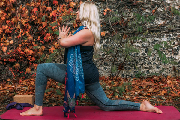 Beginners Yoga Sequence - Low Lunge With Twist