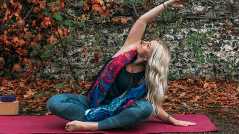 A simple beginners yoga sequence