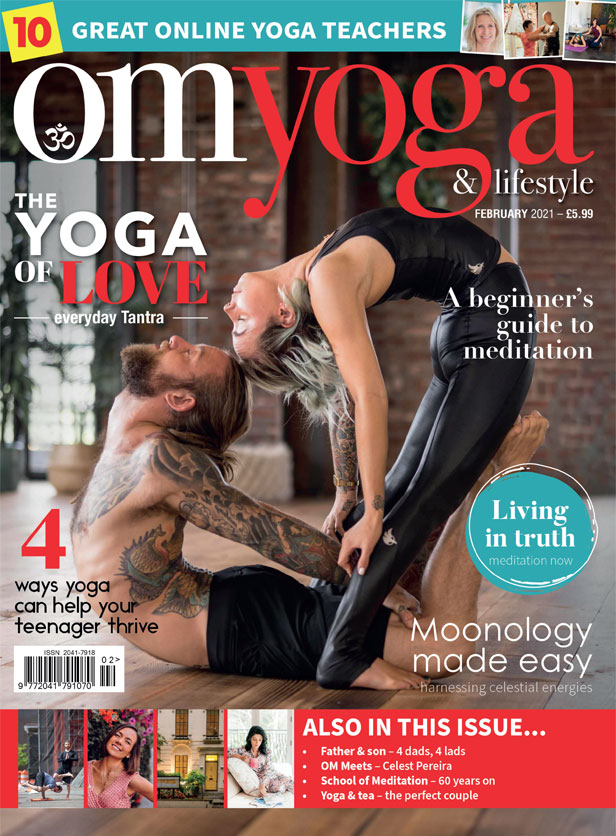 OM Yoga Feb 2021 Cover
