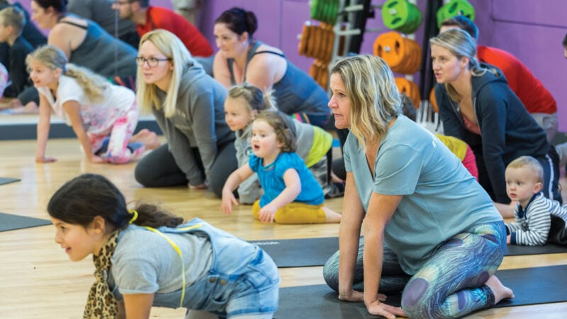 How to build your yoga class and your community