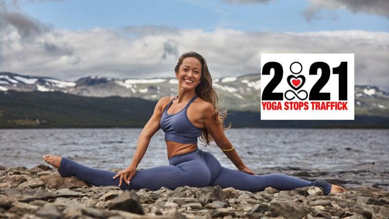 Kino MacGregor Yoga stops traffick