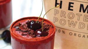 Win 500g pouch of Raised Spirit's Organic Hemp Protein Powder