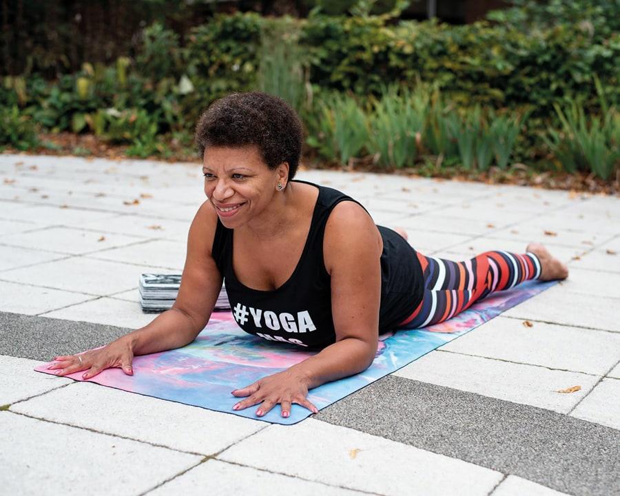 Yoga run by black women