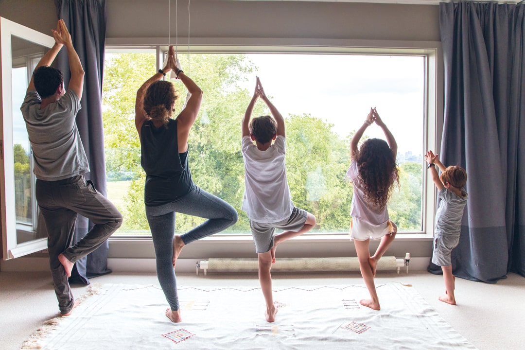 Nurturing your family with yoga