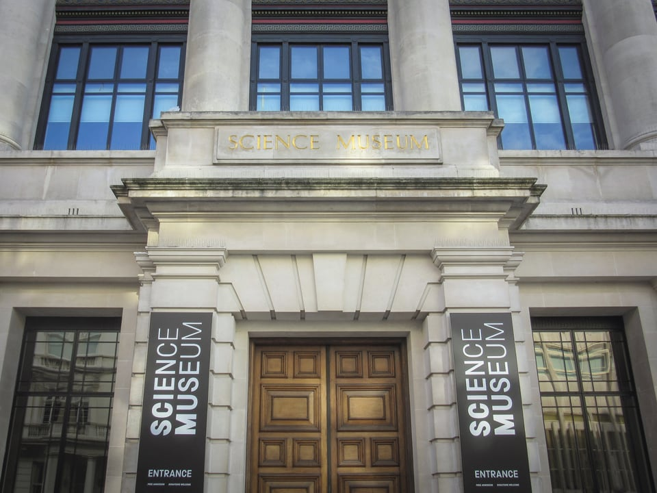 LONDON, JULY, 2018: Science Museum, London, a large and popular science themed museum in South Kensington with education exhibitions.