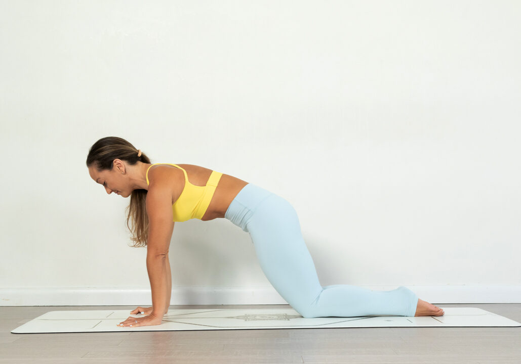 10-minute strength building yoga sequence