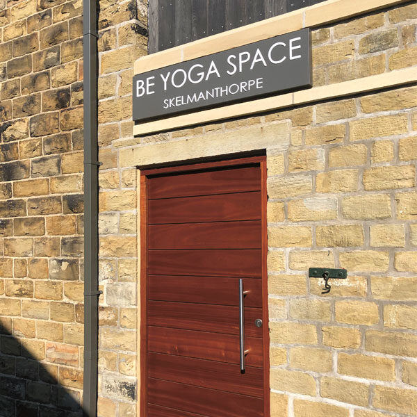 Be Yoga Space door