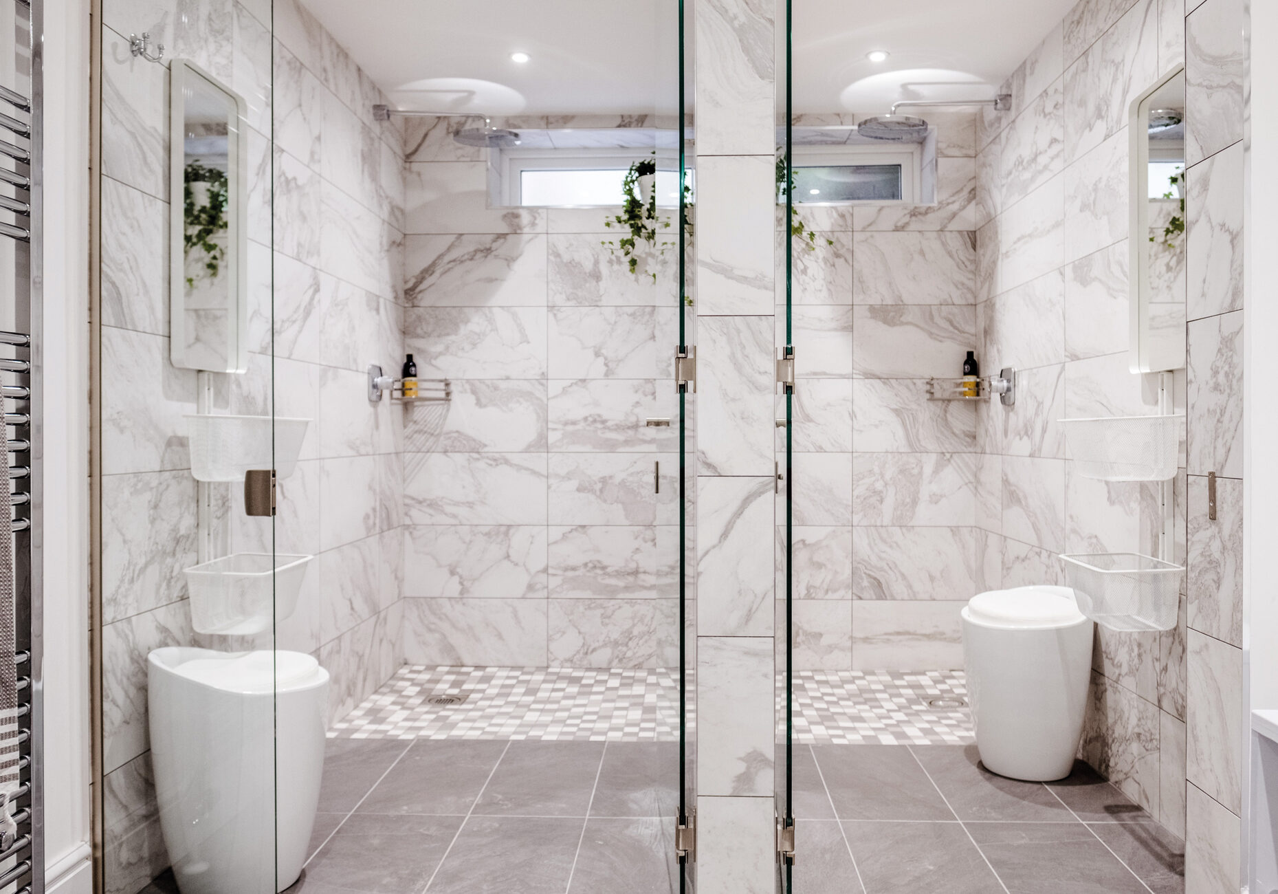 The Hive - Shower Rooms