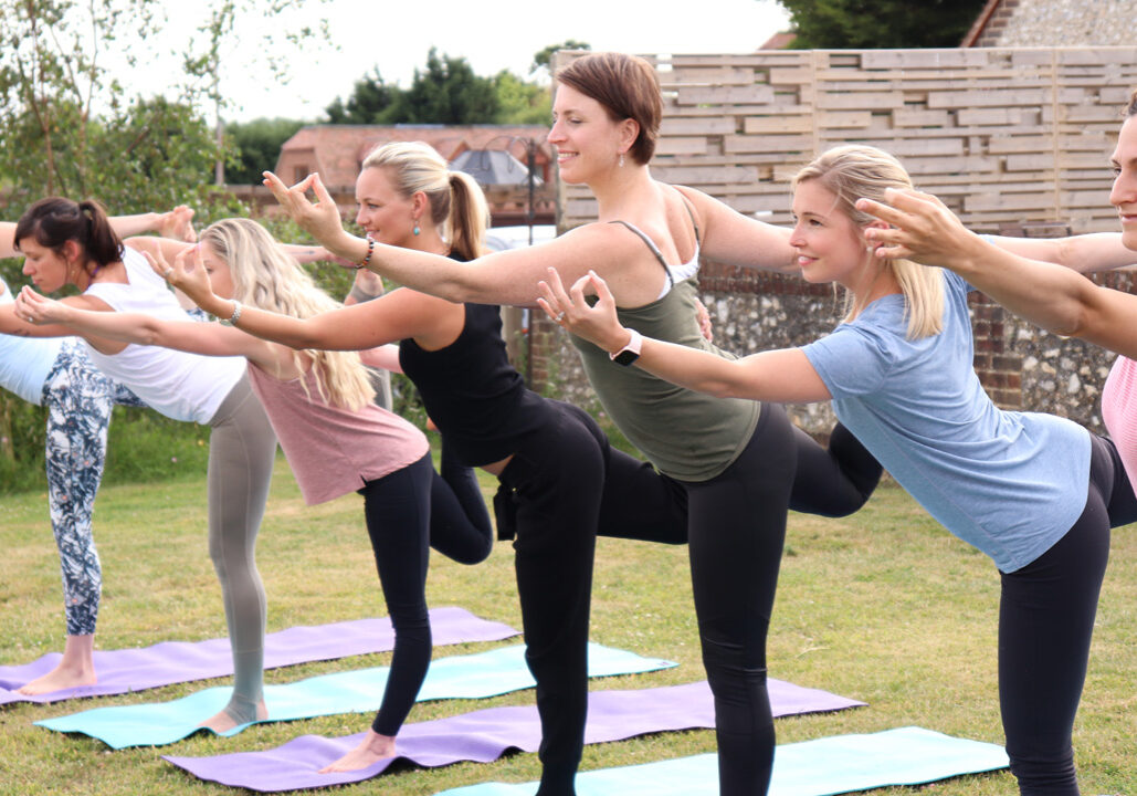 The business of yoga - Sally Parkes
