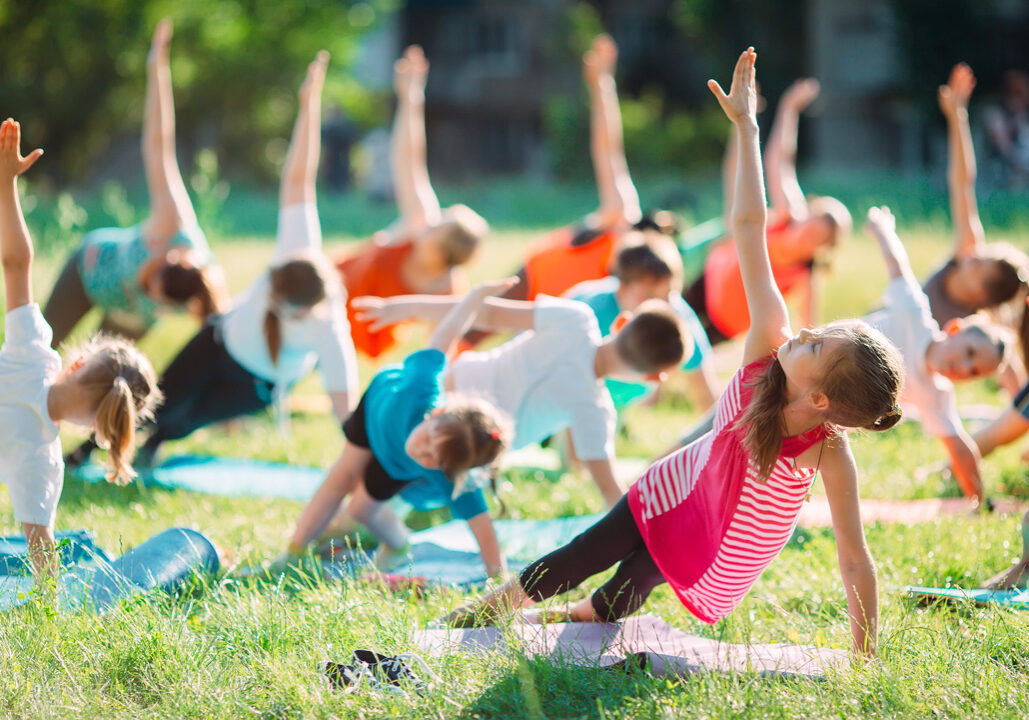 learning to teach yoga to children and teens