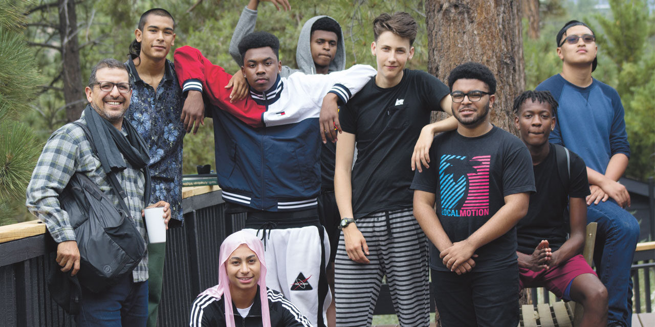 Teens-of-colour