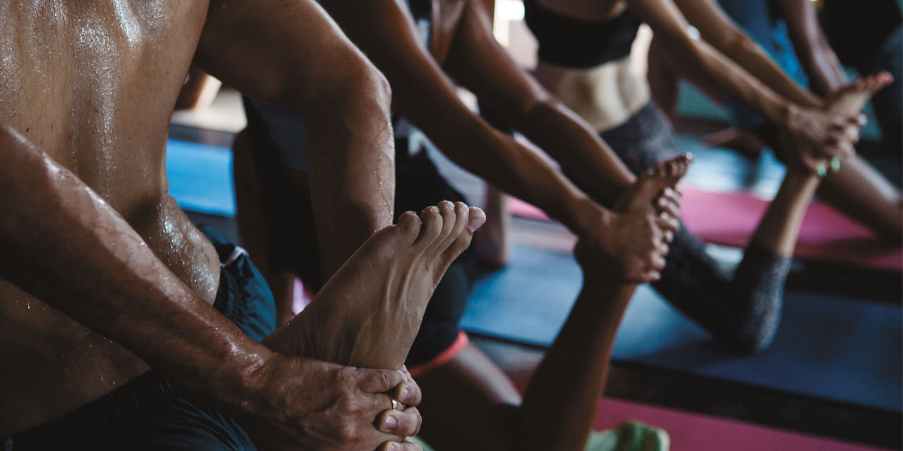The HOT yoga diet