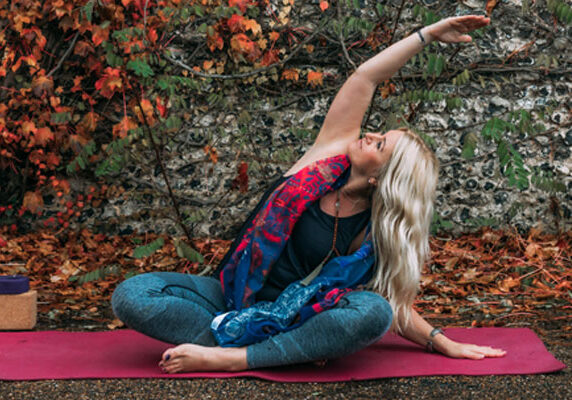 Beginners Yoga Sequence - Side Bend